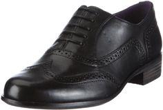 Clarks Hamble Oak, Chaussures de ville femme - Noir (Black), beige ou marron.... on aime ou on aime pas, perso... j'hadère