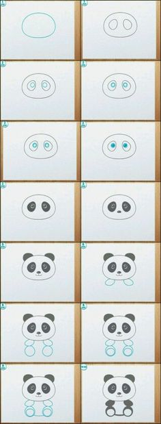 Schattige panda