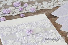 Use our gorgeous resin flowers to add the finishing touch to your beautiful DIY wedding stationery. All products available form Imagine DIY
