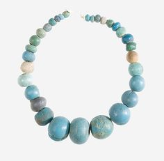 String of Ball Beads. New Kingdom, 18th Dynasty, reign of Amenhotep III, ca. 1390-1353 B.C.