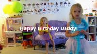 The Art of Celebration: Happy Birthday Daddy! video from The Artful Child. This would also be good for Father's Day. Includes tutorial on how to use Windows Movie Maker.