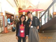 with Kazuyosi kagami in hotel nikko narita japan :)