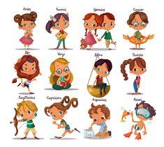 Zodiac cuties!