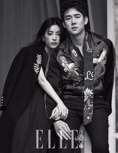 Han Hyo Joo and Yoo Yun Suk - Elle Magazine April Issue '16 Couple Goals, Love
