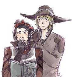 Cassandra Pentaghast and Cole, Dragon Age Inquisition Dragon Age Funny, Dragon Age Games, Cassandra Dragon Age, Cole Dragon Age, Hole In The Sky, Grey Warden, Dragon Age Inquisition, Looks Cool, Fangirl