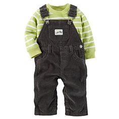 Carters Baby Boys Corduroy Overalls 3 Month ** You can get more details by clicking on the image.Note:It is affiliate link to Amazon.
