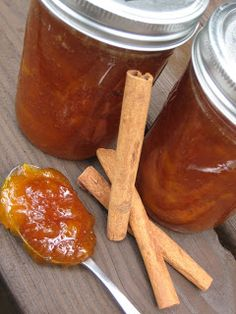 Brittanys Pantry: Spiced Peach Jam