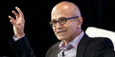 Satya Nadella becomes 3rd CEO of Microsoft. Nadella is the executive vice president in charge of Microsoft's cloud and enterprise group, a fast-growing and lucrative division of the company. He's been a Microsoft employee for over 20 years and has worked as a VP in the company's business and online services divisions.