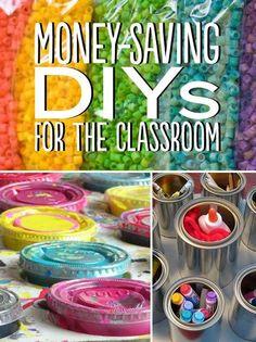 35 Money-Saving Classroom DIYs For Teachers On A Budget