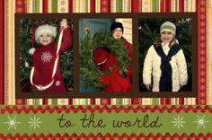 Great ideas for your Christmas Card Photos...