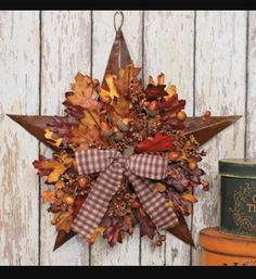 Country star/ wreath