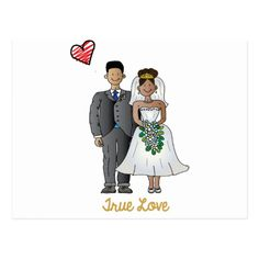 Truelove1 Postcard