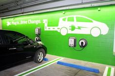 The OCC is proud to be a part of driving the expansion of #EV charging infrastructure in the Northwest by installing Electric Vehicle (EV) charging stations in our parking garage, offering guests the opportunity to charge their EVs during their stay. #greenmeetings Photo: Nancy Erz
