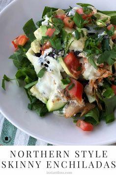 Northern Style Skinny Enchiladas