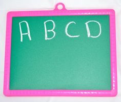 Double Sided Mini Fun Slate (Color May Vary) - Side 2.