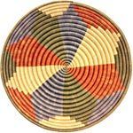 African Basket - Rwanda Sisal Coil Weave Bowl - 12 Inches Across - #33834