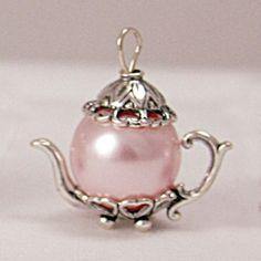 Teapot charm.