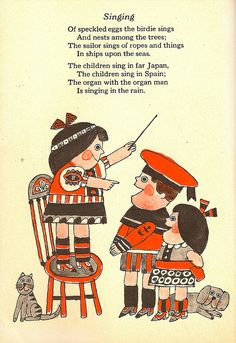 Singing  illustrated by Lionel Kalish.