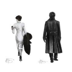 And you lost. Sherlock Irene Adler, Sherlock Series, Sherlock Bbc, Lara Pulver, Benedict Cumberbatch, A Scandal In Bohemia, Adventures Of Sherlock Holmes, 221b Baker Street, Johnlock