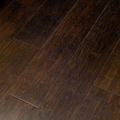 Natural Floors by USFloors�Exotic 5.35-in W Prefinished Bamboo Locking Hardwood Flooring (Jacobean)