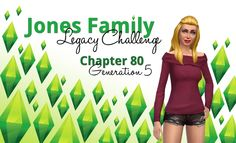 Keeping up with the Joneses #80