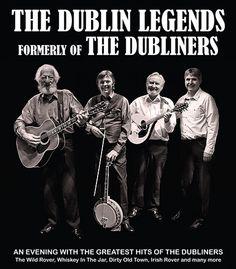 THE DUBLIN LEGENDS Vr 3 Juni 2016. Toen frontman John Sheahan van The Dubliners, er in 2012 mee stopte, zetten de andere leden van de band hun zegetocht voort. Onder de naam The Dublin Legends zingen deze iconen van het Ierse levenslied vol overgave over vrouwen, drank, gelukkige en ongelukkige liefdes. In een avondvullend programma brengen ze een mix van oud en nieuw materiaal. www.openluchttheater-valkenburg.nl