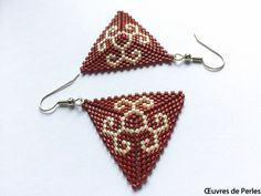 A personal favourite from my Etsy shop https://www.etsy.com/listing/536276954/seed-beads-miyuki-earrings-in-brown-and