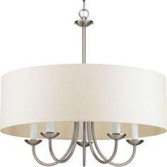 World Imports Venn 6-Light Brushed Nickel Chandelier-WI907737 - The Home Depot