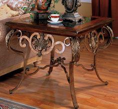 Venetian End Table