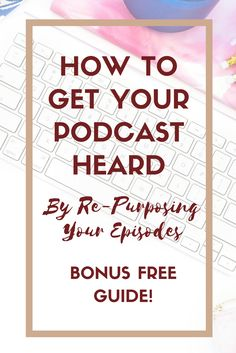Find out how to get your podcast heard and save time. Plus get a free guide! - Find out how to get your podcast heard and save time. Plus get a free guide! Business Marketing, Email Marketing, Business Tips, Affiliate Marketing, Social Media Marketing, Online Business, Podcast Topics, Podcast Setup, Starting A Podcast