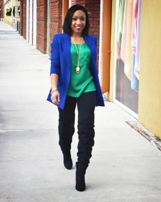 {Jewel Tones} Outfit Post  www.Chanelcraves.com