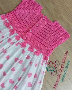 Best 8 Bebek – Page 318981586106746438 – SkillOfKing.Com - Crochet Brazilce ~ crochet yoke for girl's dress ~ finished yoke b.Crochet Feather Crochet Yoke Sock Animals Needle And Thread Crochet Projects Girls Dresses Blanket Knitting Diy Craftspi Crochet Toddler, Baby Girl Crochet, Crochet Baby Clothes, Crochet For Kids, Crochet Yoke, Crochet Vest Pattern, Baby Knitting Patterns, Crochet Tutu Dress, Diy Crafts Knitting