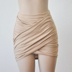 Loyally Elegant Asymmetrical Ruffle Bodycon Wrap Skirt