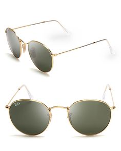 2f6b8c30ec Ray-Ban Unisex Round Sunglasses