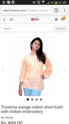 Lucknowi chiken kurti. You can visit www.troverna.com to shop on cash on delivery