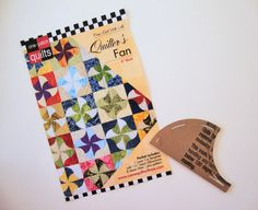 QUILTER'S FAN Quilt Pattern with Template  One Patch by Jambearies