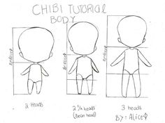 chibi mini tutorial two by punkAliceRose.deviantart.com on @deviantART: