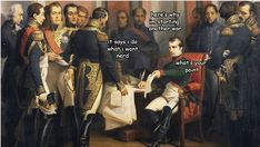 From The Adventures of Napoléon Bonaparte by kochei. His many wars had a lot of unforeseen consequences. #cdnhistory