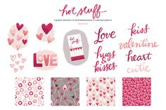 Check out Hot Stuff Love Graphics (PNG) by k.becca on Creative Market