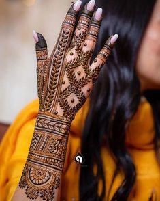 Henna Tattoo Designs Simple, Full Hand Mehndi Designs, Stylish Mehndi Designs, Henna Art Designs, Mehndi Designs For Beginners, Mehndi Designs For Girls, Mehndi Design Photos, Wedding Mehndi Designs, Mehndi Designs For Fingers