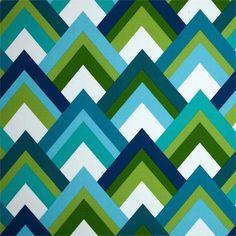Resort Peacock Outdoor Fabric;