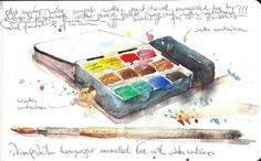 watercolor travel box | Recent Photos The Commons Getty Collection Galleries World Map App ...