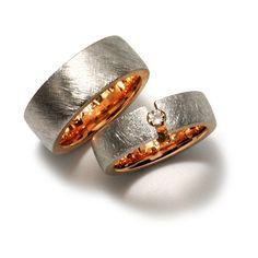 Eheringe oder Ehering bei Ihrem Goldschmied in Winterthur - Goldschmiede Atelier MOJO design Winterthur