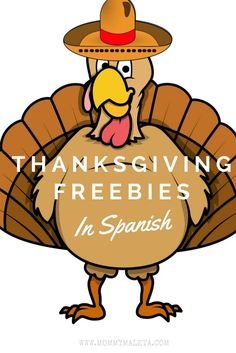 Looking for Thanksgiving activities, Thanksgiving videos, and Thanksgiving printables for your little tots? How about teaching them a little Spanish while your at it? This is a great list of Thanksgiving freebies in Spanish. Spanish Lessons For Kids, Preschool Spanish, Spanish Basics, Spanish Activities, Learn Spanish, Vocabulary Activities, French Lessons, Learn French, Thanksgiving Videos