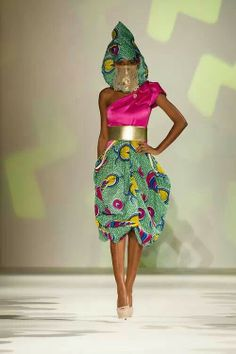 Afrocentric outfit