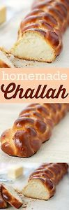 Challah is a festive bread with a brown crust and a soft white crumb. It is made for most of the Jewish Holidays and while it is most often seen braided (three, six or twelve strands of dough), it can...