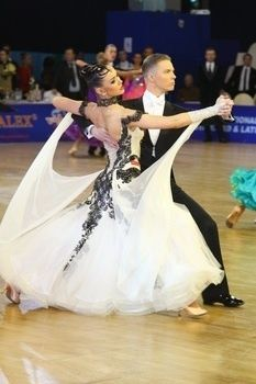 Peacock ballroom dress