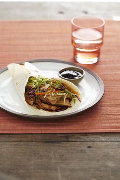 Slow Cooker Asian Pork Wraps #myplate #slowcooker #fall #pork #easydinners