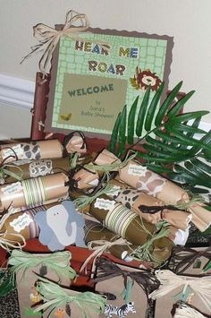 Safari Baby Shower for my nephew-to-be Baby Shower Party Ideas | Photo 1 of 25 | Catch My Party