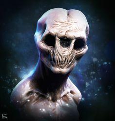 Josh Hardie Fan Art #2- Monster Creature Design Speedsculpt, Kenny Carmody on ArtStation at https://www.artstation.com/artwork/lGPeG